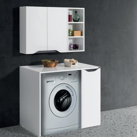 Badella - Badella Banyo Smile Çamaşır Makinesi Dolabı