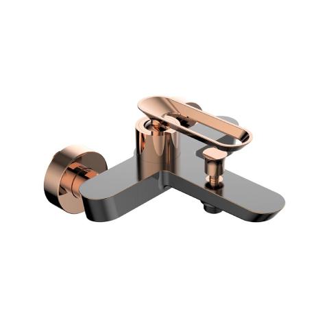 Bien Banyo - Bien Banyo Hermes Banyo Bataryası Fırçalı Bronz-Rose Gold