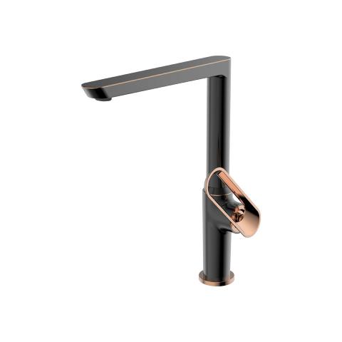 Bien Banyo - Bien Banyo Hermes Mutfak Bataryası Fırçalı Bronz-Rose Gold