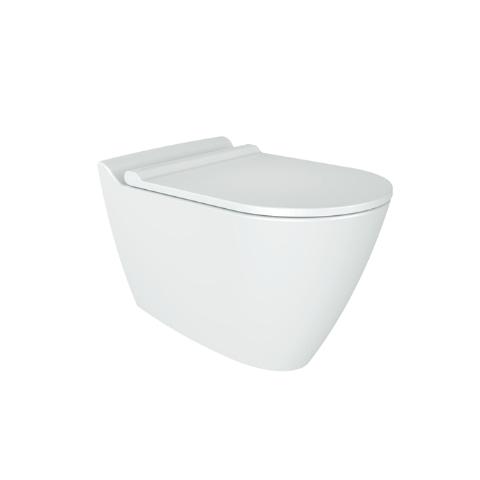 Bien Banyo - Bien Banyo Mineral Kanalsız Asma Klozet Beyaz