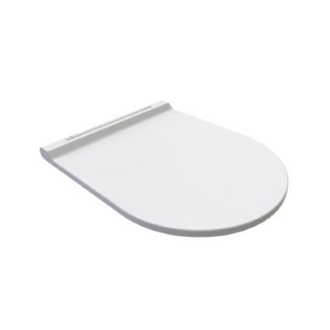 Bien Banyo - Bien Banyo Solo Monoslim Proplast Klasik Kapanan Klozet Kapağı Buz Beyazı