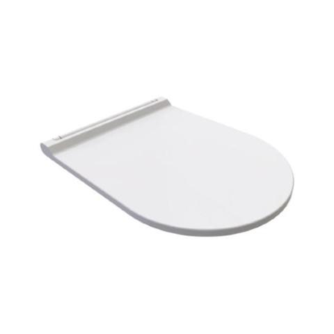 Bien Banyo - Bien Banyo Vento Monoslim Duroplast Yavaş Kapanan Klozet Kapağı Buz Beyazı