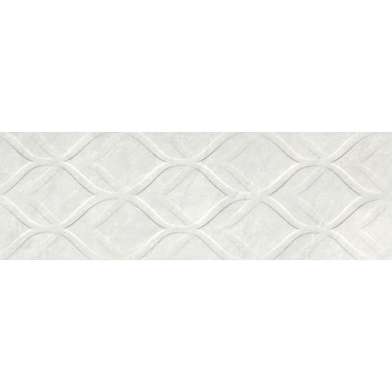 Bien Seramik 30x90 cm Enzo Beyaz Dekofon Duvar Karosu
