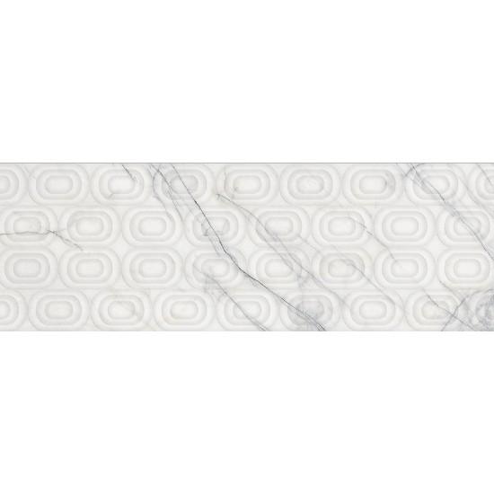 Bien Seramik 30x90 cm Vigo Beyaz Dekofon Duvar Karosu