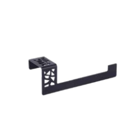 Camero Banyo - Camero Zeus Siyah Kapaksız Tuvalet Kağıtlığı