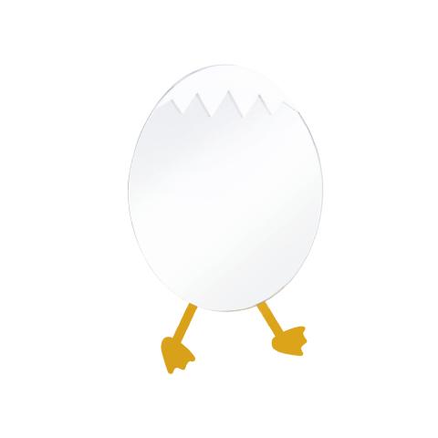 Creavit - Creavit Ducky Küçük Ayna Yumurta Figürlü
