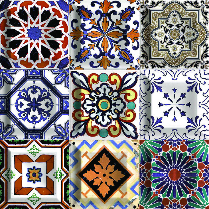Fionart Mosaic - Fionart Mosaic 30x30 cm Lena Royal Seramik Dekor