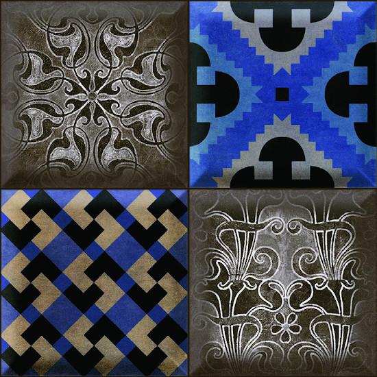 Fionart Mosaic - Fionart Mosaic 30x30 cm Losso Retro Seramik Dekor