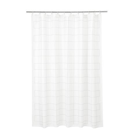 IKEA - IKEA RALLSJÖN Duş Perdesi Beyaz