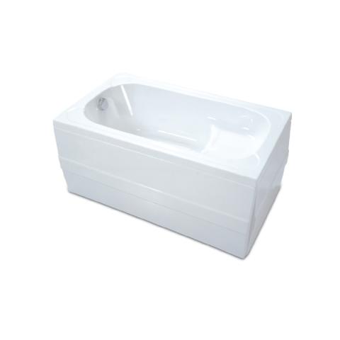 Kabinet - Kabinet 70x120 cm Oturmalı Dikdörtgen Küvet Beyaz