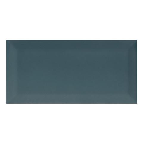 KARO Metro Seramik 10x20 cm Parlak Sea Blue Bevelled Duvar Karosu