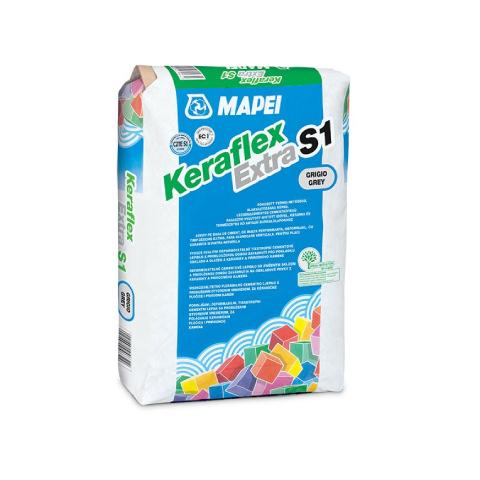 Mapei - MAPEI Keraflex Extra S1 Çimento Esaslı Seramik Yapıştırıcısı Gri