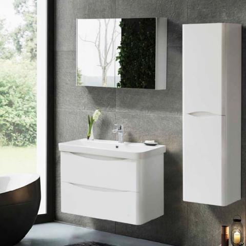 Martat - Martat Banyo Zen 80 cm Banyo Mobilyası Takımı