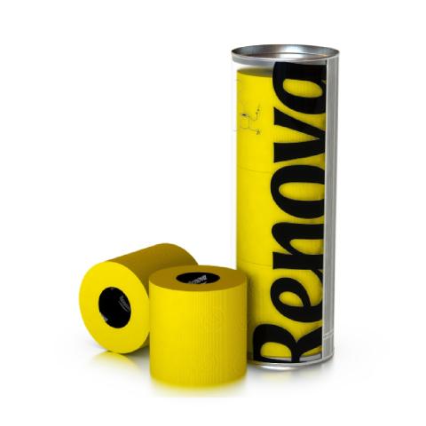 Renova - Renova Renkli Tuvalet Kağıdı Sarı