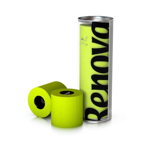 Renova - Renova Renkli Tuvalet Kağıdı Yeşil