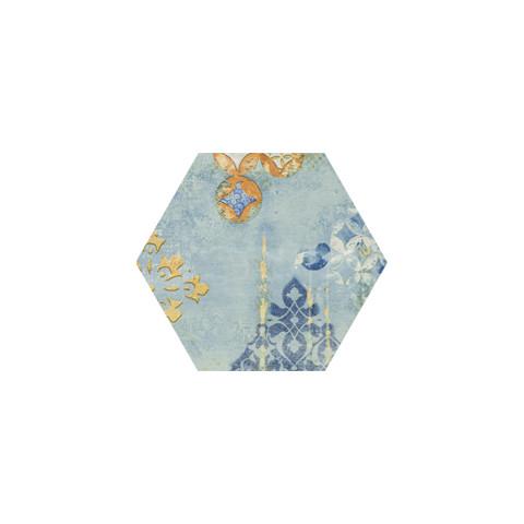 Seranit 20x23 cm Nikea Flower Dekor Yer Karosu