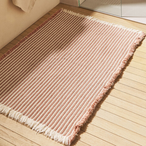 ZARA HOME Çizgili Banyo Paspası 60x90 cm